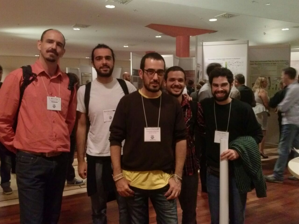 Max, Mario, Simone, Gabriel and Pedro at  SVP 2014 Meeting in Berlin