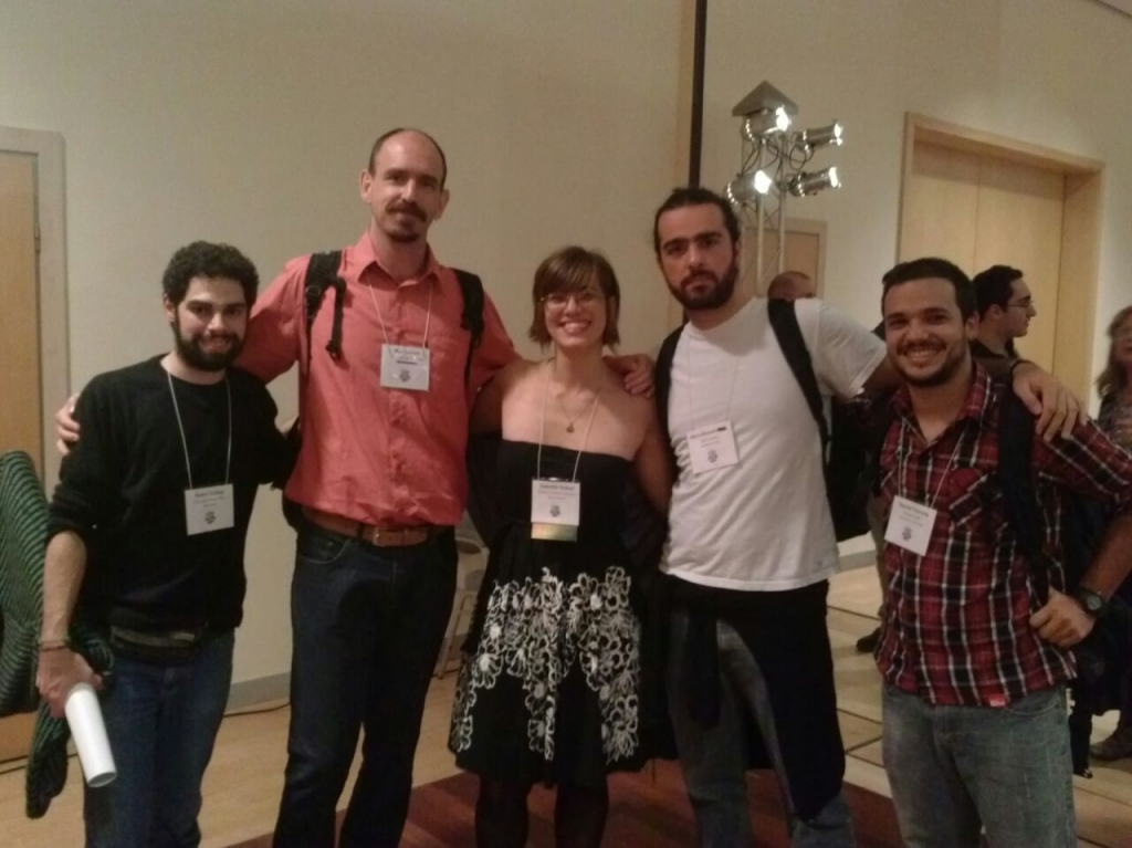Pedro, Max, Gabi, Mário and Gabriel at  SVP 2014 Meeting in Berlin